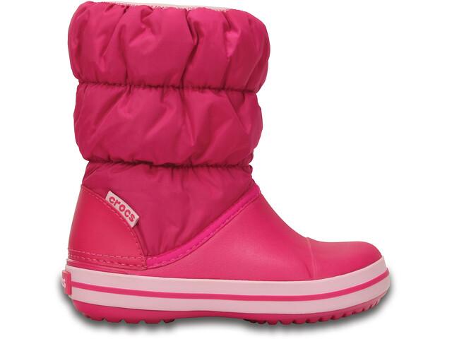 Crocs Winter Puff Stivali Bambino, candy pink